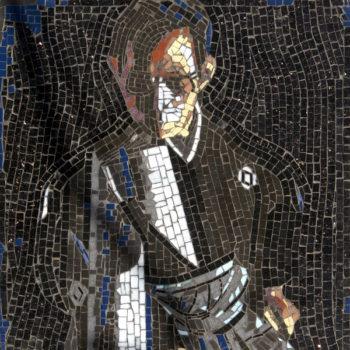 Portrait of Sword Master Miura Hanshi