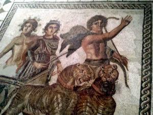 Triumphof Dyonisos mosaic Seville
