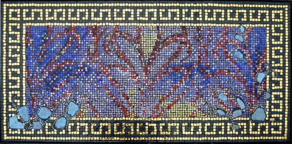 Carola Quinta mosaic eyes portrait