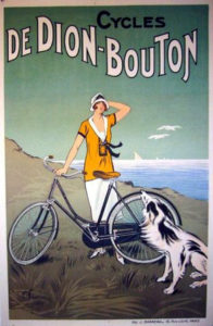 De Dion Bouton Bicycle poster