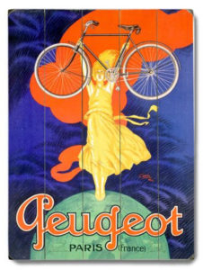 Peugeot Bicycles Poster