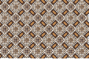 Roman mosaics designs - Model composed of 16 elements of the Checkerboard mosaic