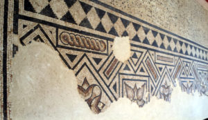 Mosaic floor from the House of the Grand Peristyle