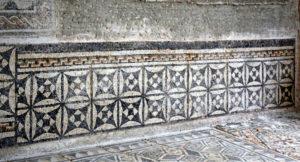 Wall mosaic. Djemila. Algeria