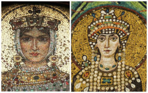 women of power : empresses Helena and Theodora