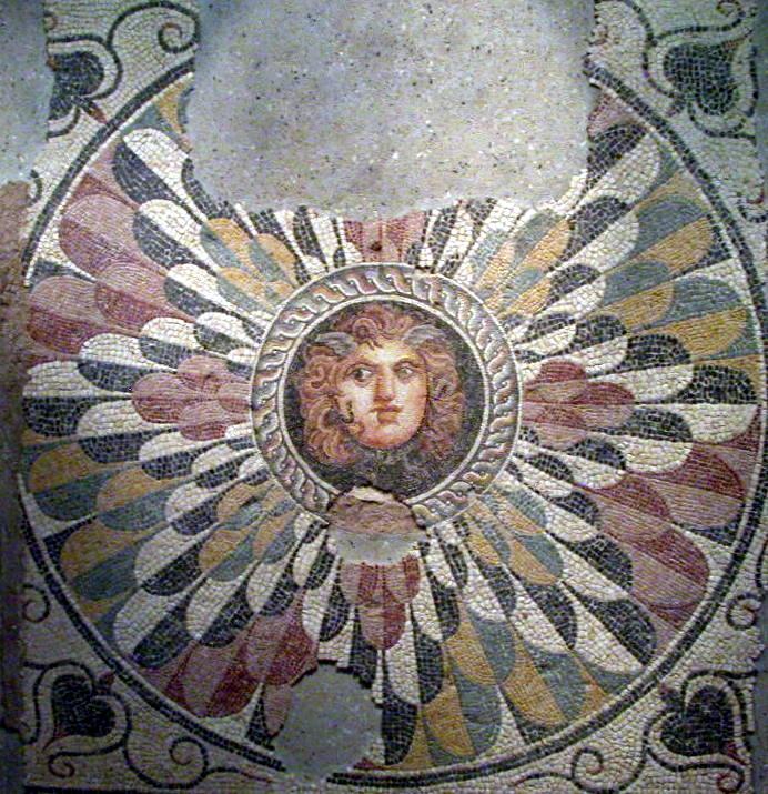 Perseus and Medusa - Mosaic Blues The story ofMedusa and Perseus