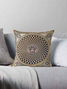 Christmas Stuffer - Medusa mosaics pillow