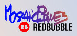 MosaicBlues RedBubbles shop