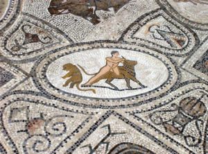 Hercules kills the Cretan Bull