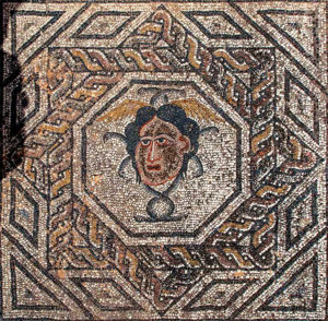 Medusa head - House of Dyonisos , Volubilis