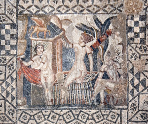 Volubilis - mosaic of Diana and her Nymphs