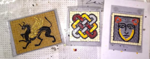mosaic monaudieres sides , work in Progress.