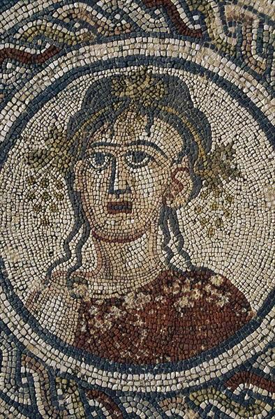 Autumn, mosaic of the four seasons