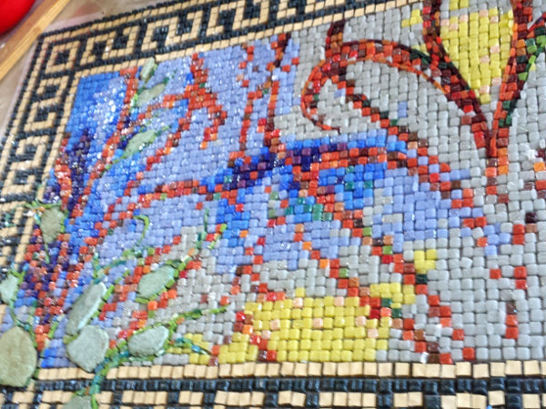 Carola QUInta mosaic, work in Progress