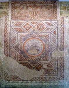 he Corinium Hare mosaic