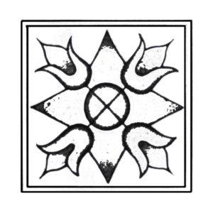 Viennes mosaic floret