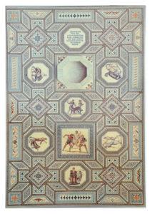 The Nennig Roman mosaic
