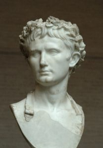 Bust of Emperor August, Glyptothek, Munich, Germany