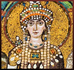 Theodora mosaic Pillow on