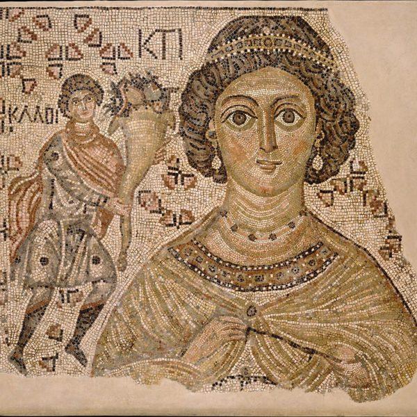 Ktisis byzantine mosaic, unknown provenance, Met Museum