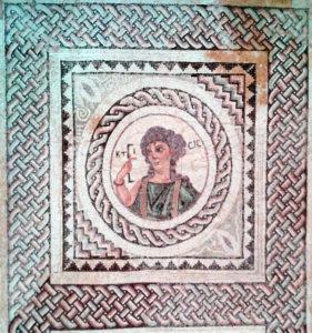 Early Byzantine mosaic, Ktisis, Cyprus