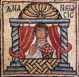 Early Byzantine mosaic, Ananeosis