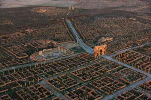 Ruins of Roman Timgad, Algeria