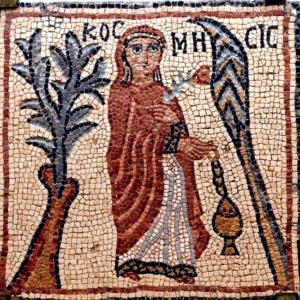 Early Byzantine mosaic, Kosmesis