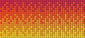 Red to Yellow gradient - 4 colors