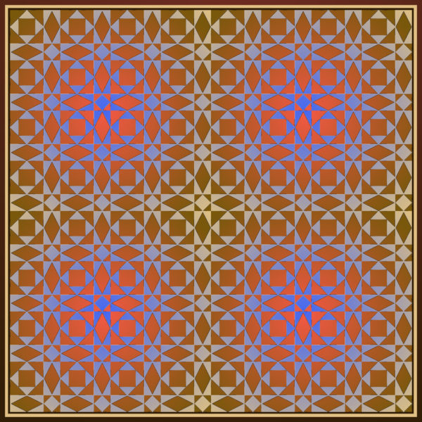 4x4 design - Roman Tile - 13 - Saint Romain en Gal