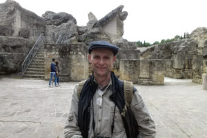 I visited Italica's amphitheater in December 2017