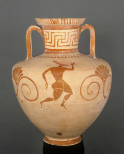 Amphora with trifid neck and handles Department of Greek, Etruscan, and Roman Antiquities: Archaic Greek Art (7th-6th centuries BC)