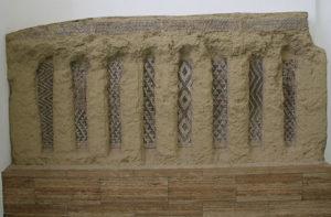 various designs of cone mosaics displayed at the Custom Link 640px-Vorderasiatisches_Museum_Berlin