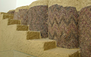 cone mosaics from the Eanna Temple in lower Mesopotamia Uruk