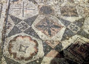 Volubilis mosaics floor, 2nd century AD