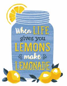 You're unemployed : Make lemonade