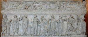 Muses Sarcophagus, 2nd century AD, Rome