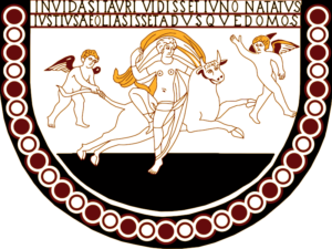 Complete digitized design of the Lullingstone Europa mosaic